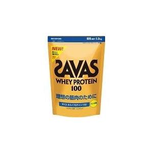 次世代プロテイン♪ SAVAS(ザバス) 『ホエイプロテイン100(バニラ) ビッグ 』 1.0kg CZ7357 画像1