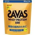 次世代プロテイン♪ SAVAS(ザバス) 『ホエイプロテイン100(バニラ) スーパー 』 2.5kg CZ7359 画像1
