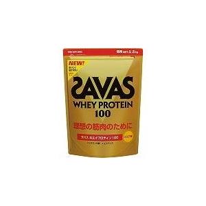 次世代プロテイン♪ SAVAS(ザバス) 『ホエイプロテイン100(ココア) スーパー』 2.5kg CZ7369