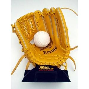 軟式二塁手用グローブ Zeems(ジームス) イエロー 右投げ用『ESP481N』