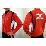 MIZUNO(ミズノ) ジュニア用 Vネックジャケット 52wj-713 レッド(62) 150サイズ