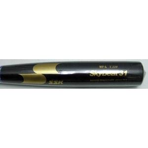 硬式アルミバット 『スカイビート31WF-L』 ブラック 83cm/900g平均 ブラック(90)