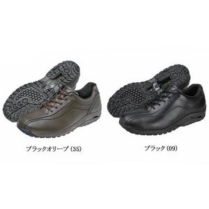 ミズノ(mizuno) スポーツスタイル LDシリーズ ウォーキングシューズ 男性用 『LD40 SW』 【5kf-740】 ブラック 24.5cmの写真1