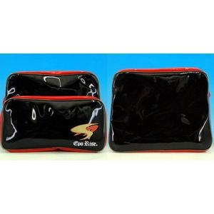 eporise(エポライズ) ショルダーバッグ レッド×ブラック レッド×ブラックの写真2