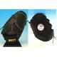 ZETT(ゼット) 硬式グローブ プロステイタス 投手用 『bpg101-1964』 ブラック×レッド(縫い糸) 右投げ用