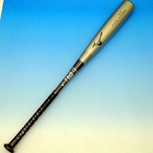 10年カタログ外商品 MIZUNO(ミズノ) 軟式バット 『(ビューリーグ)ファイナルカーボ』 カーボン製 ブラック×ゴールド 84cm×平均600g 2TP-40340-50