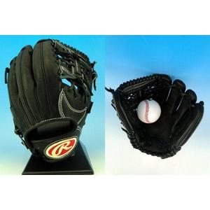硬式用グローブ Rawlings(ローリングス)『BUFFER』2010年商品 内野手用 ブラック(90) 右投げ用