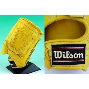 硬式グローブ Wilson(ウィルソン) 『Pro STAFF』 投手用【2010年商品】  Lタン 右投用 【WTAHGP17L】