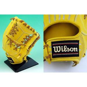 硬式グローブ Wilson(ウィルソン)『Pro STAFF』 内野手用【2010年商品】 Lタン 右投用 【WTAHGP46L】