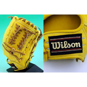 硬式グローブ Wilson(ウィルソン)『Pro STAFF』 内野手用【2010年商品】 Lタン 右投用 【WTAHGP57L】