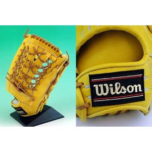 硬式グローブ Wilson(ウィルソン)『Pro STAFF』 外野手用【2010年商品】 Lタン 右投用 【WTAHGPW7L】