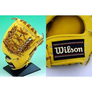 硬式グローブ Wilson(ウィルソン)『Pro STAFF』 内野手用【2010年商品】 Lタン 右投用 【WTAHGY5L】