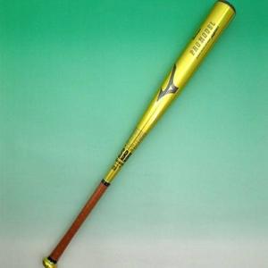 2010年モデル MIZUNO(ミズノ) ビューリーグ プロモデル一般軟式用バット 松井モデル 85cm・平均750g 【2tr45350-hm】 ゴールド