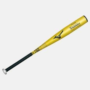 09年モデル MIZUNO(ミズノ) ビクトリーステージ 少年軟式バット 『Vコング02金属製』 79cm×平均600g 2TY-84590-50 ゴールド(50)