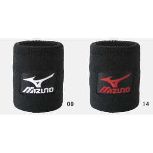 MIZUNO(ミズノ) リストバンド(サラサラタイプ) 2個入り 52YS-100 ブラック(09)