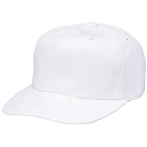 SSK(エスエスケイ) ベースボールキャップニットタイプ 【角ツバ6方型 】 【bc190】 ホワイト(10) S(53〜54cm)