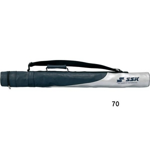 SSK(エスエスケイ) バットケース 1本入 ビニール(エナメル加工) ネイビー(70)