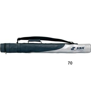 SSK(エスエスケイ) ジュニア用バットケース 1本入 ビニール(エナメル加工) ネイビー(70)