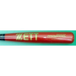【2010年モデル】 ZETT(ゼット) 軟式一般用バット プロモデル 赤星型 【BCT39024】 ブラック×レッド(1964) 84cm×730g平均