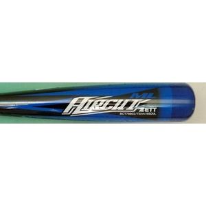 2010年モデル ZETT(ゼット) 少年軟式用バット 『AIRCUT』 ブラック×ブルー(1923) 72cm×500g平均