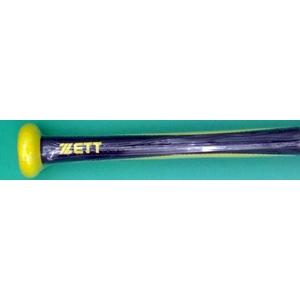 2010年モデル ZETT(ゼット) 少年軟式用バット 『AIRCUT』 イエロー×ブラック(5319) 78cm×520g平均