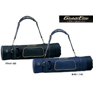 ☆★2010年3月発売!!★☆ MIZUNO(ミズノ) GlobalElite(グロールエリート) バットケース ブラック(09)
