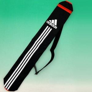adidas(アディダス) 少年用バットケース 1本入れ ブラック×Lスカーレット(E37380) 【2セット】
