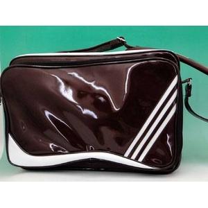 【2010年NEWモデル】 adidas(アディダス) BB ショルダー ライトマルーン×ホワイト kq888 e36787