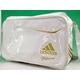 【2010商品】 adidas(アディダス) adidas Professional ベースボール ショルダーバッグ ホワイト×ライトオールドゴールド E37697 写真1