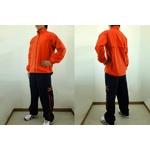 MIZUNO(ミズノ) ウォーマーシャツ&パンツ『上下セット』 オレンジ Mサイズ