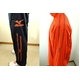 MIZUNO(ミズノ) ウォーマーシャツ&パンツ『上下セット』 オレンジ Mサイズ 写真2