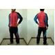 MIZUNO(ミズノ) ウォーマーシャツ&パンツ『上下セット』 イチロー選手着用モデル ブラック×ローズ×ブルー(65) Lサイズ