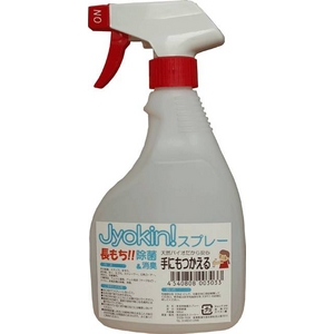 除菌時間が長もち!多目的に使えるインフルエンザ対策 Jyokin!スプレー 500mL
