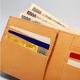 LORETO(ロレート) コードバンシリーズ 二つ折り財布(コインポケット無し) ブラウン 写真4