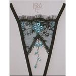 Lola Luna(ローラルナ) 【CAUCASE open】 オープンストリングショーツ Mサイズ¥7350