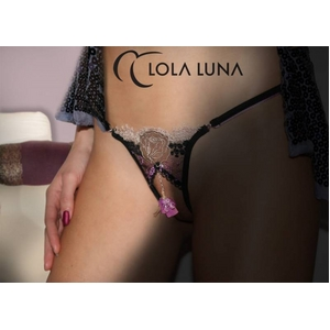 Lola Luna(ローラルナ)【PAOLA S】 オープンストリングショーツ Sサイズ