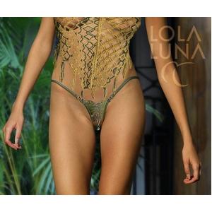 Lola Luna(ローラルナ) 【 VERVEINE open 】 openストリングショーツ Lサイズ - 拡大画像