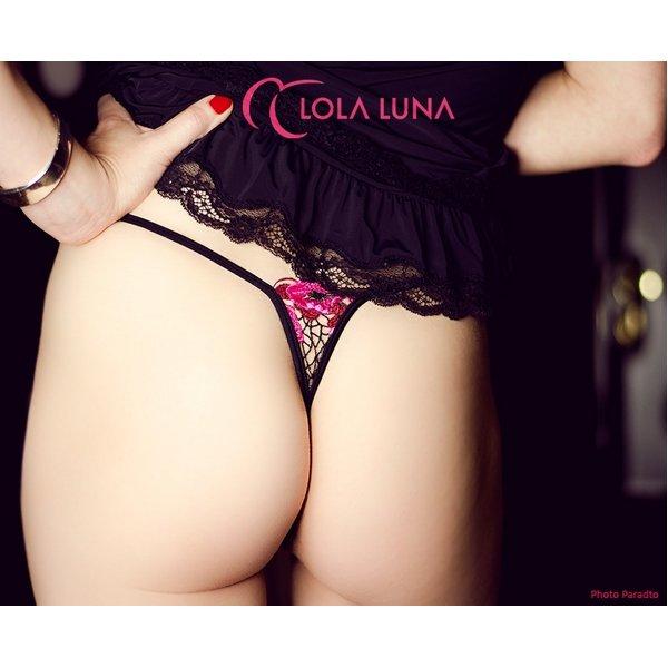 Lola Luna(ローラルナ) 【PANAMA micro M  】オープン ストリングショーツ M セクシ下着激安通販