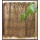 ヒョウ柄遮光カーテン 幅100cm×丈110cm 2枚組 - 縮小画像6