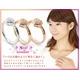 Beji(ベジ) 〜elegant style series〜 heartパヴェ/リング 15号 tj200909002be K10ホワイトゴールド 写真3