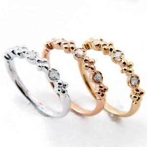 Beji(ベジ) ~elegant style series~ flowers/リング 9号 tj200909003be K10ホワイトゴールド