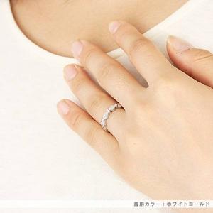 Beji(ベジ) ~elegant style series~ rhombus/リング 9号 tj200909004be  K10ホワイトゴールド