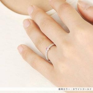 Beji(ベジ) ~elegant style series~ love/リング 9号 tj200909006be  K10ホワイトゴールド