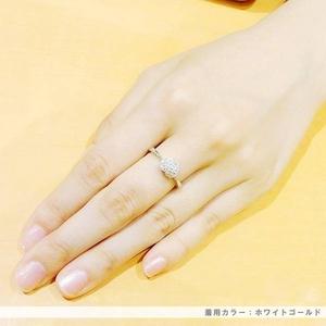 Beji(ベジ) ~elegant style series~ heartパヴェ/リング 9号 tj200909002be K10 イエローゴールド