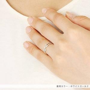 Beji(ベジ) ~elegant style series~ ribbon/リング 9号 tj200909005be K10 ピンクゴールド