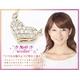 Beji(ベジ) heartパヴェ/ネックレス/Natural Pink×White Stone【czダイヤ】【矢部美佳さん着用】 写真6