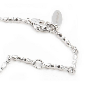 Beji(ベジ) デザイナーズネックレスチェーン1/ Sparkle Silverの写真1