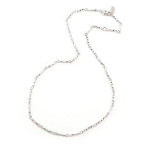 Beji(ベジ) デザイナーズネックレスチェーン1/ Sparkle Silverの写真3