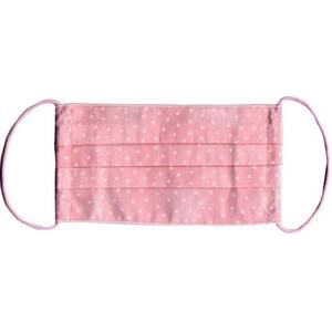 ZAT抗菌デザインマスク + 抗菌スプレーセット 【大人用 水玉 ピンク】