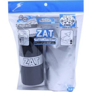 ZAT抗菌クラスターゲル3個+自然式拡散器セットブラック